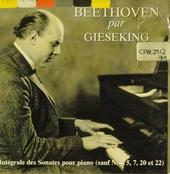 Beethoven par Giesking