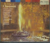 The songs of Ernest Chausson