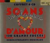 50 ans de chansons d'amour