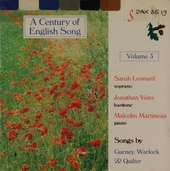 A century of English song. vol.3