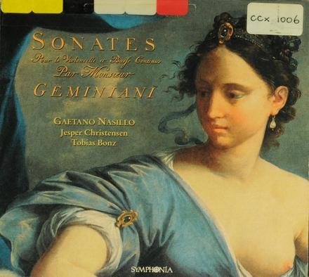 6 Sonate per violoncello e basso continuo op.V