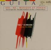 Vol.42 : Musicque et poesie. vol.42