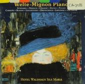 Welte-Mignon piano ; Hotel Waldhaus Sils Maria