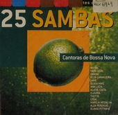 25 sambas : cantoras de bossa nova