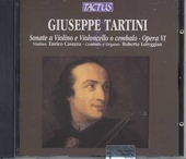 Sonate a violino e violoncello o cembalo - Opera VI