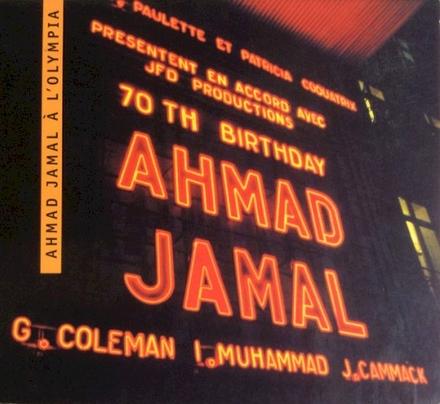 Ahmad Jamal à L'Olympia - 70th birthday