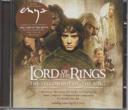 The Lord of the Rings : the fellowship of the ring : original motion picture soundtrack