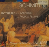 Intégrale de la musique pour voix de femmes
