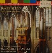 Jozef Sluys an der Grenzing-Orgel der Kathedrale zu Brüssel