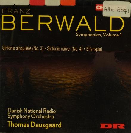 Sinfonie singulière. Vol. 1