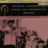World library of folk and primitive music : France