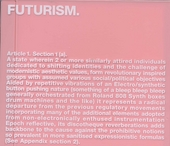 Futurism.