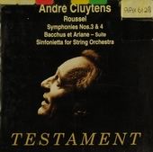 André Cluytens conducts Roussel
