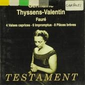 Germaine Thyssens-Valentin plays Fauré