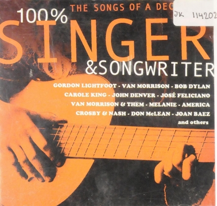 100% singer & songwriter