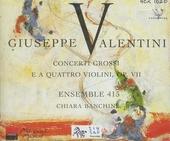 Concerti grossi e a quattro violini, op vii