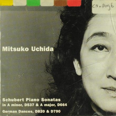 Piano sonata in a minor, D537