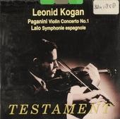 Leonid Kogan plays Paganini . Lalo