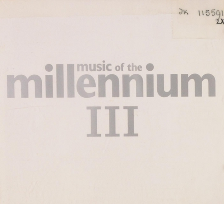 Music Of the millennium. Vol. 3