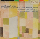 The three violin concertos