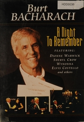 Burt Bacharach : A night to remember