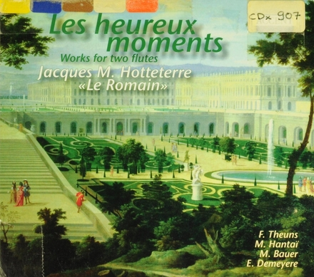 Les heureux moments : works for two flutes