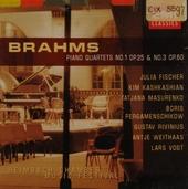 Piano quartets no.1 op.25 & no.3 op.60