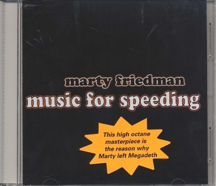 Music for speeding
