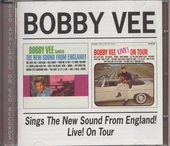 Bobby Vee sings the new sound from England ; Live! on tour