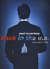 Back in the U.S. : concert film