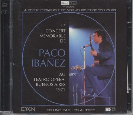 Le concert mémorable au Teatro Opera (Buenos Aires 1971)