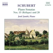 Piano sonatas nos.15 (Reliquie) and 20