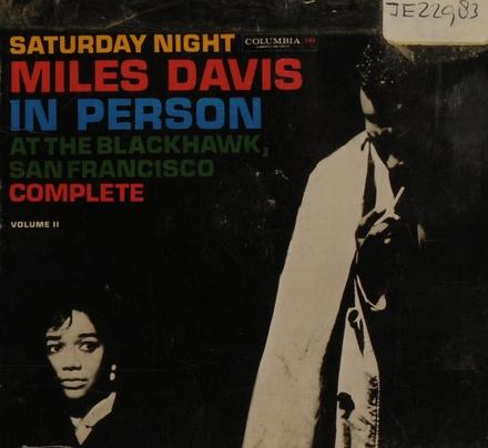 Saturday night at the Blackhawk. vol.2