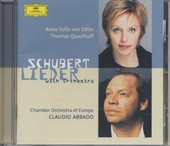 Lieder with orchestra