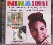 Nina Simone at Newport, at The Village Gate and elsewhere...