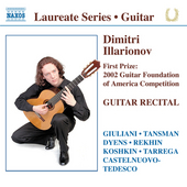 Guitar recital : first prize 2002 Guitar Foundation of America Competition