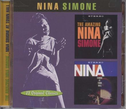 The amazing Nina Simone ; Nina Simone at Town Hall