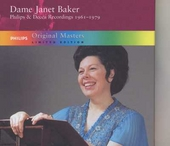 Dame Janet Baker : Philips & Decca recordings 1961-1979