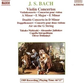 Violin concertos in a minor & E major