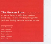 The greatest love : timelessly captivating love songs