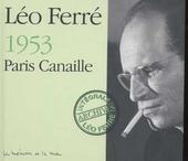 Paris canaille 1953 : le mémoire et la mer