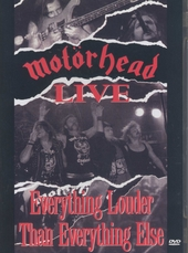 Live : Everything louder than everything else