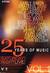 25 Years of music : Saturday night live. vol.1
