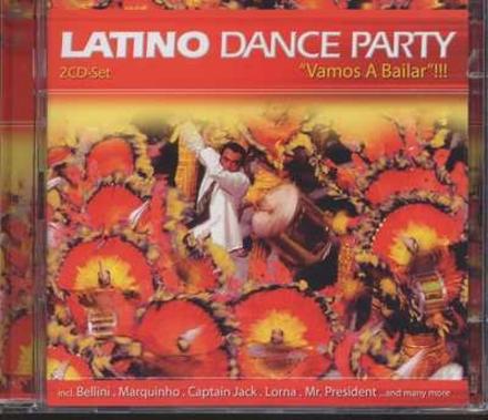 Latino dance party : vamos a bailar!!!