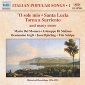 Italian popular songs 1. vol.1