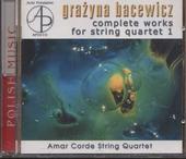The complete works for string quartet - 1. vol.1