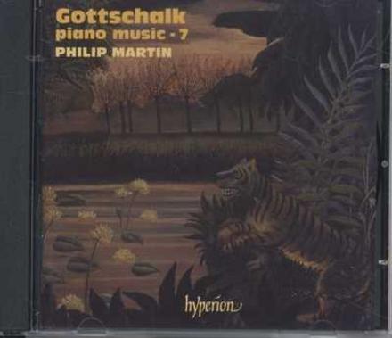 Piano music by Louis Moreau Gottschalk - 7. vol.7