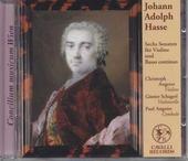 Sechs Sonaten für Violine und Basso continuo