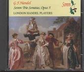 Seven trio sonatas, opus 5