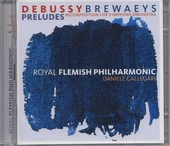 Preludes : recomposition for symphony orchestra by Luc Brewaeys